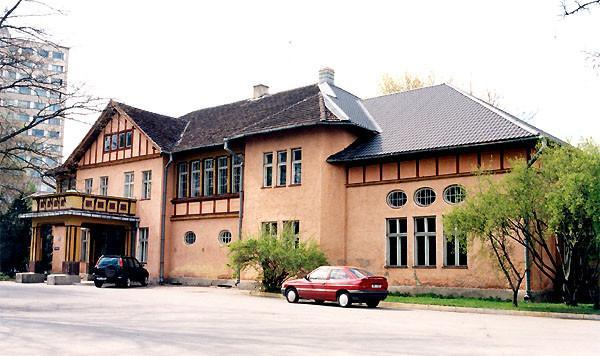 Main building of the Tähtvere Manor (beginning of the 1910s)