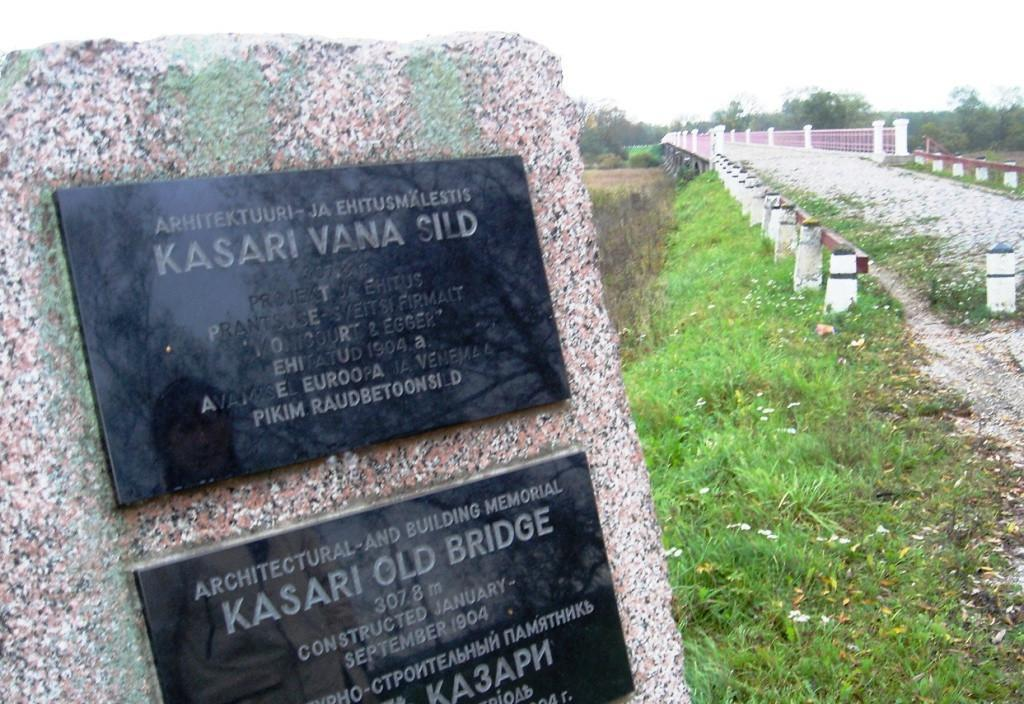 Kasari River and historic bridge