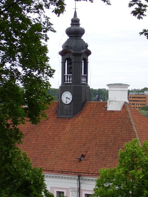 Clock tower of Tartu Town Hall