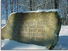 Memorial Stone to Four Kings on Paide Vallimgi
