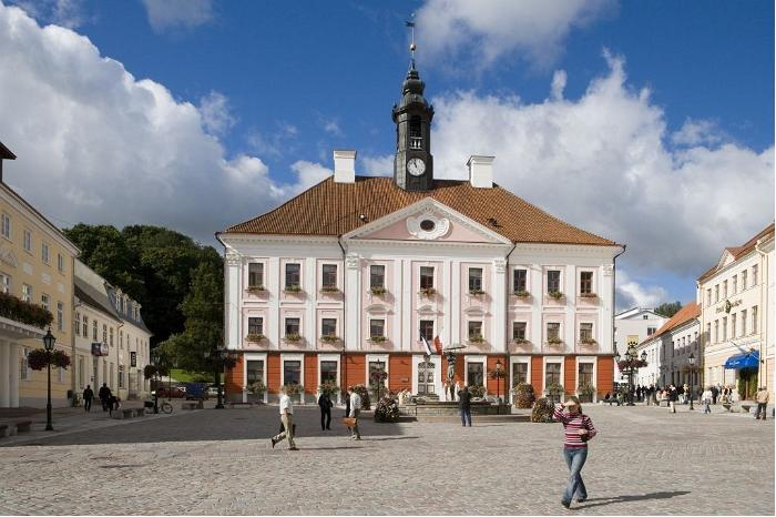 Town Hall Square in Tartu