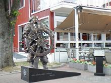 Sculpture of 'Kihnu Jõnnu'