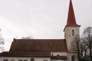 St John's Lutheran Church in Haapsalu
