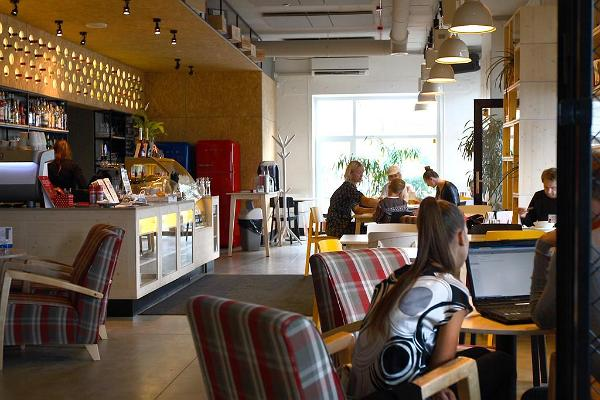 Reval Café in the Telliskivi Creative City