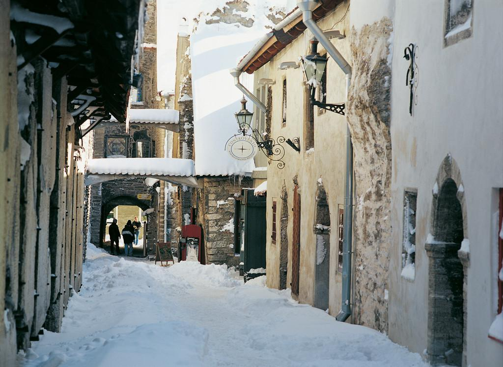 Catherine's Alley in winter
