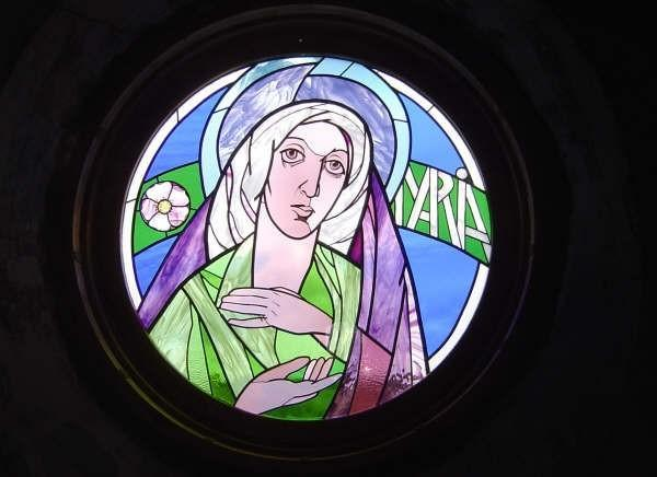 St. Mary stained glass window