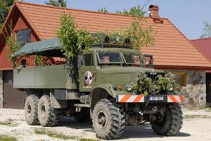 KRAZ safari vehicle