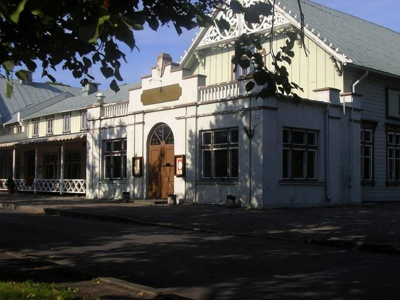 Pärnu Kuursaal - outside view