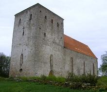 St. Mary's Church in Pöide