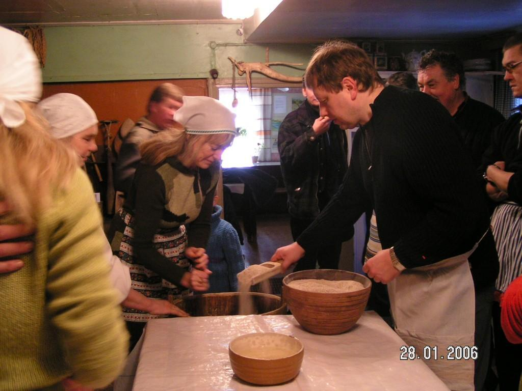 Bread-day of Sillaotsa Farm Museum
