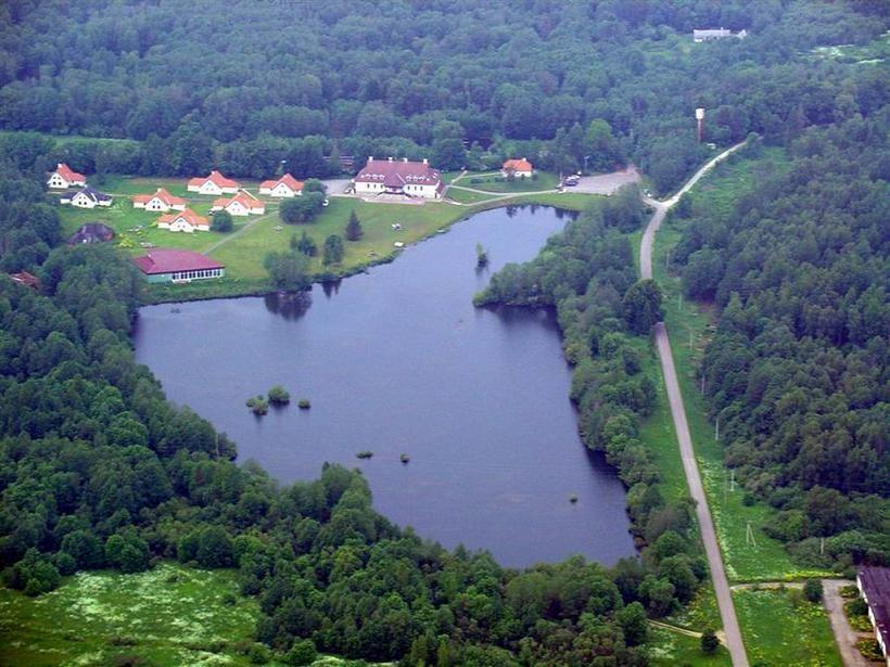 Laagna hotel from the air