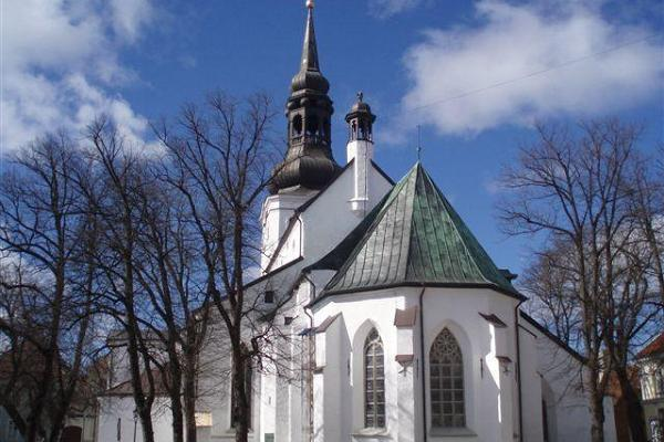 The Cathedral of Saint Mary the Virgin in Tallinn