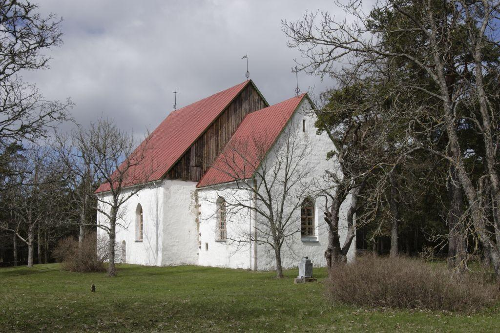 St Olav's Church in Vormsi