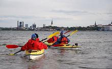 Kayaking in Tallinn