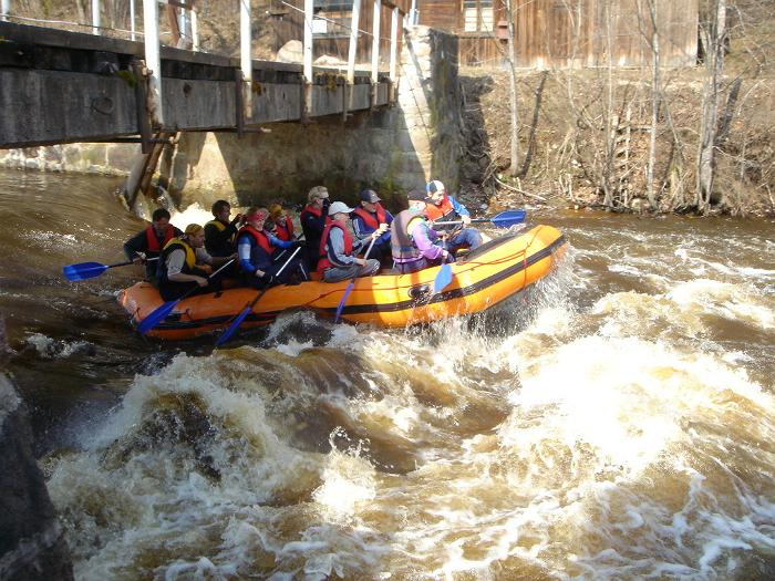 Veetee rafting trips: rivers of Võhandu, Piusa and Pirita