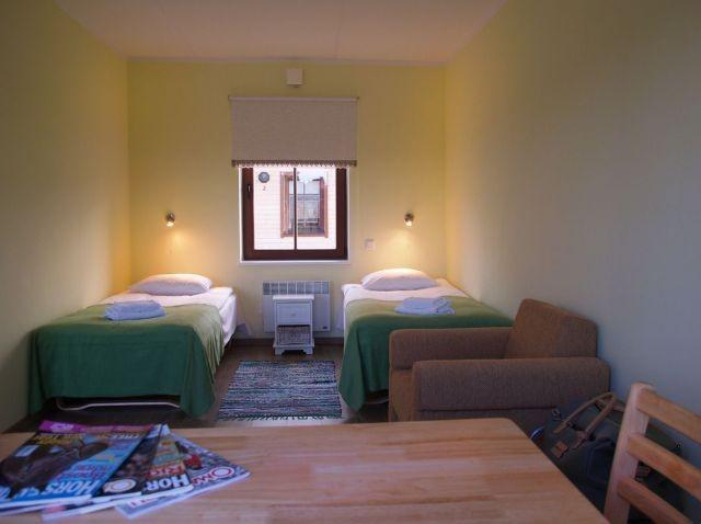 Twin room at Maria Farm