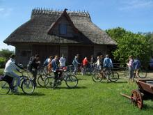 A cycling trip on small roads in Western Saaremaa