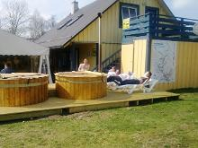 Steam and barrel saunas