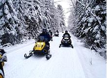 Explore Lake Peipus on a motorised sled!