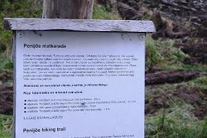The Penijõe River hiking trails