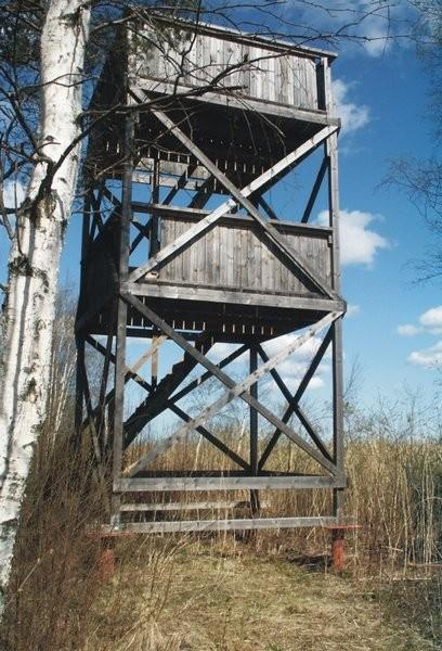Saare Hiking Trail, birdwatching tower