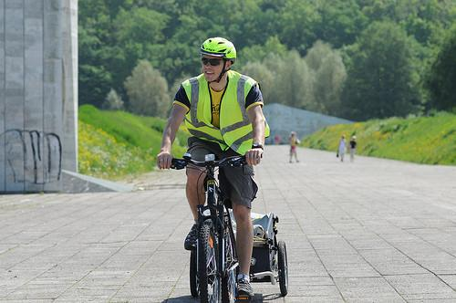 On a bicycle tour - guided by Toomas