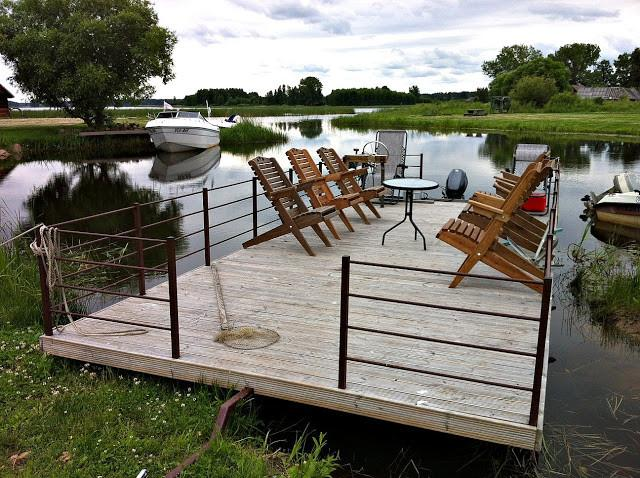 Pleasure raft of the Rõsna Holiday Home
