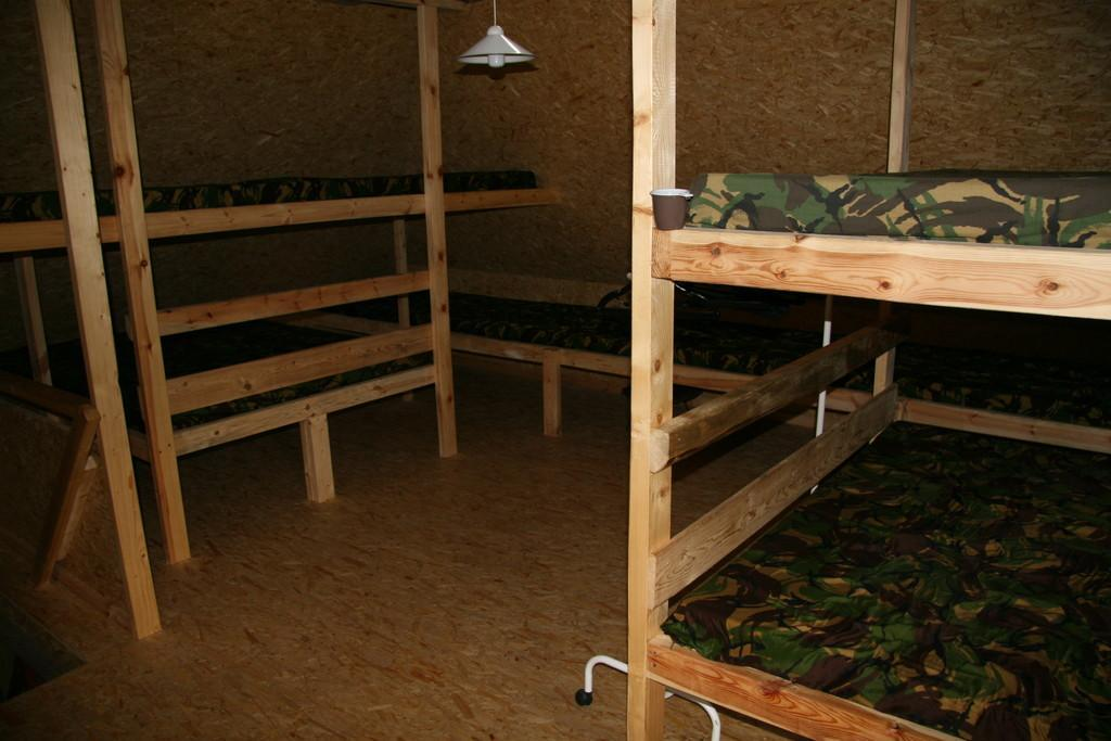 Sleeping room in the granary