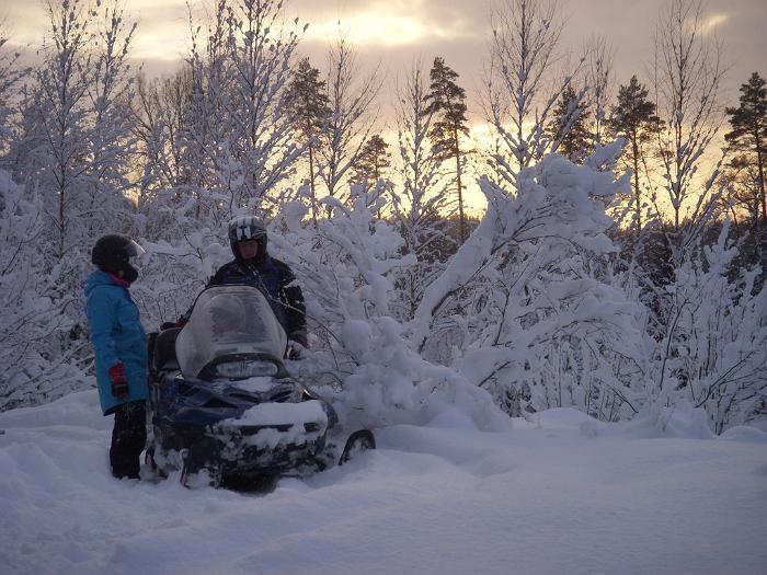 Motorised sled trips