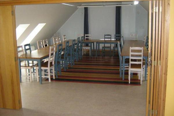 2nd floor of dining hall - perfect for special events and seminars