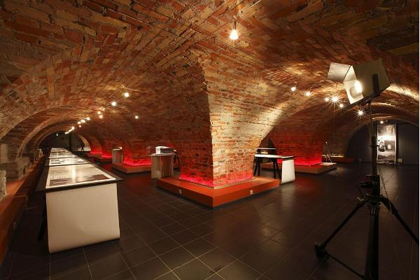 Museum of Estonian Architecture, exhibition room in the basement