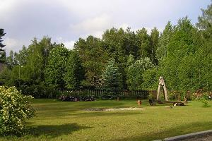 Barbecue area of the Värska Guesthouse