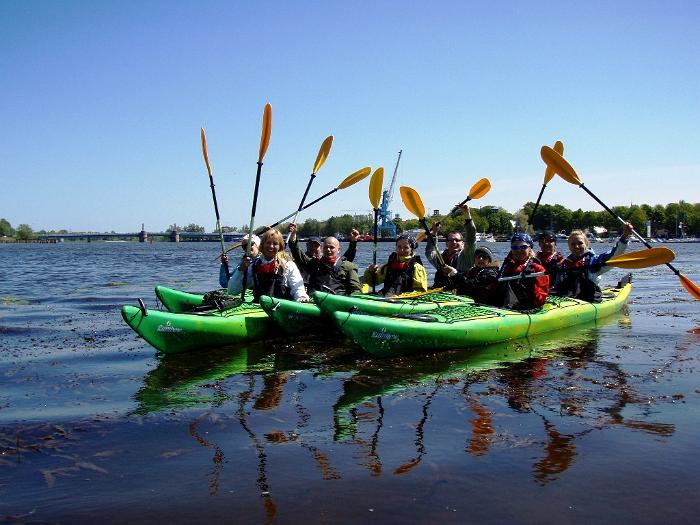 Kayaking on Pärnu Bay!