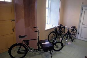 Red Room of the Estonian Bicycle Museum
