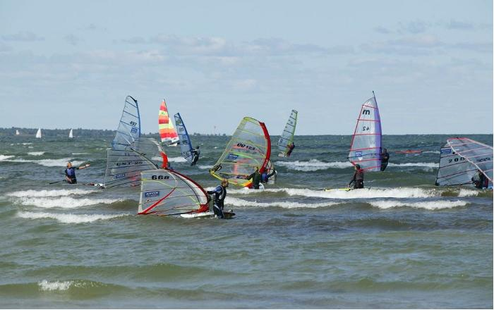 Windsurfing in Estonia