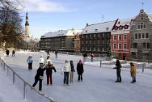 Ice Skating In Estonia