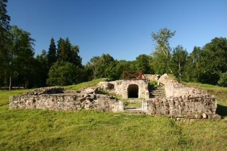 Ruins of the medieval Keila fortress
