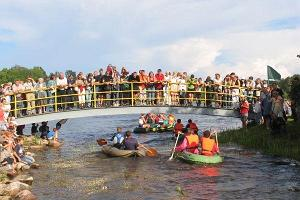 Rõuge Boat Race on Lake Suurjärv