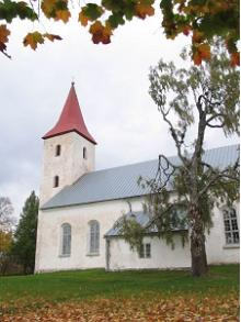 St. Mary's Church in Ruge