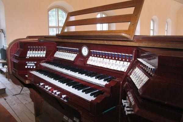 31-register organ built by the Kriisa brothers in St. Mary