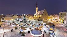 Tallinn Christmas market opened on the Old Town Square