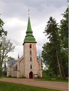 EELK Maria-Elisabetkyrkan i Kursi