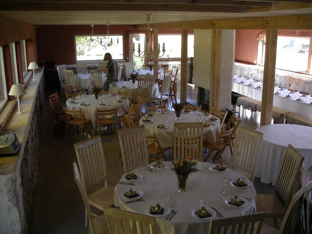 Large hall at the Mokko Farm