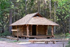 Cabin for hikers