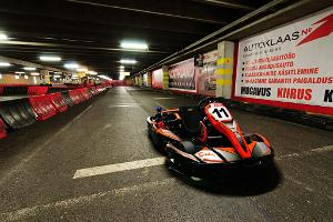Go-karting at Triobet Go-Kart Centre