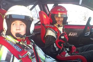 Co-piloting with a professional racing driver at LaitseRallyPark