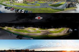 Go-karting track of the Laitse Rally Park