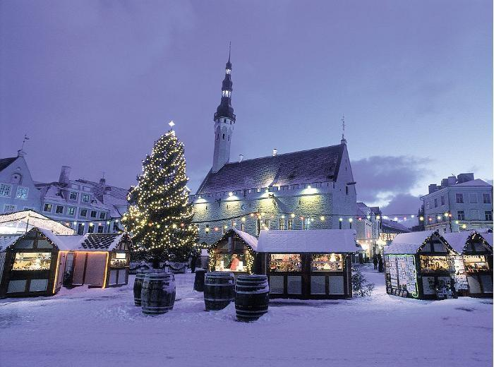 Tallinn Christmas market praised as one of the best in Europe