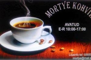 Mortye Café at the Rapla Central Library