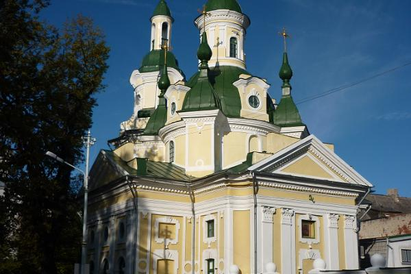 St. Catherine (Jekateriina) church in the centre of Pärnu